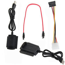For 2.5/3.5 Hard Drive SATA/PATA/IDE Drive to USB 2.0 Adapter Converter Cable