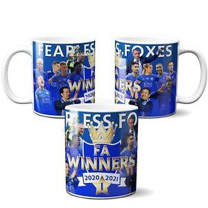 Leicester  city Mug FA cup Winners 2021  Gift