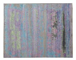 The Rug Company Hand Knotted Modern Rug 9.8 X 7.7 Multicolored Carpet