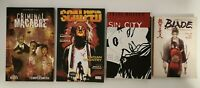 Lot of 4 Graphic Novel Books Sin City Criminal Macabre Blade Scalped (A2)