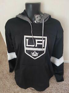 Los Angeles Kings adidas Mens Blue Line Premium Hooded Sweatshirt XL New NWT