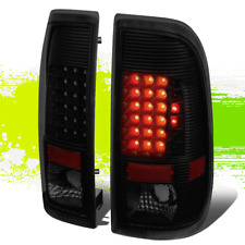 FOR 99-07 FORD SUPER DUTY F150 PAIR LED TAIL BRAKE LIGHT LAMP TINTED 03 04 05 06