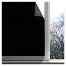 Blackout Window Film Privacy Room Darkening Window Tint Black Window Cover