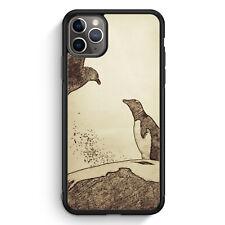 Vintage Pinguin & Vogel iPhone 11 Pro Silikon Hülle Motiv Design Tiere Schön ...