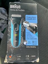 Braun Series 3 ProSkin 3040s Wet & Dry Electric Shaver- Black - New!!!