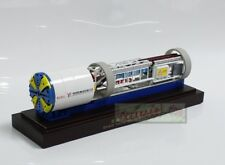 1/100 China Guangzhou Metro Gift Shield Tunnel Boring Machine Model (Glass box)