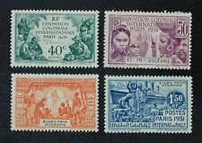 CKStamps: France Stamps Collection French Polynesia Scott#76-79 Mint H OG