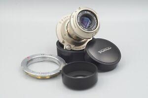 Voigtländer Heliar 50mm f3.5 101 Years Special Edition LTM Lens