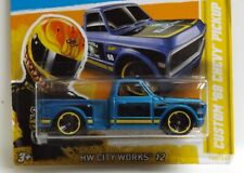 2012 Hot Wheels City Works Custom'69 Chevy Truck ** ** parcial perdidas tampo de error