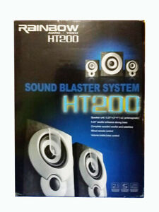 Rainbow Audio Video Sound Blaster System