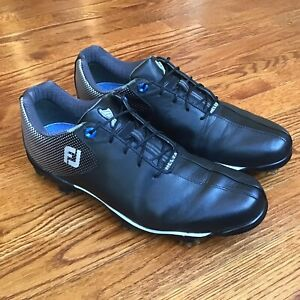 Footjoy Mens DNA Helix Golf Shoes 53318 Black Size 10.5