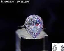 Emerald VVS1 Fine Diamond Rings