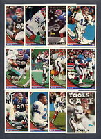 1994 Topps Buffalo Bills TEAM SET Jim Kelly