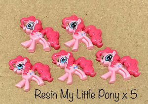 MY LITTLE PONY RESIN X 5