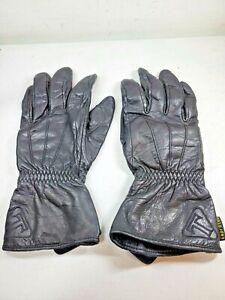 Men's Leather Motorcycle Gloves Keprotec Schoeller Size Large