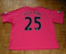 """Everton #25 Fellaini 2010/2011 """"3XL"""" Le Coq Sportif Away Shirt Jersey Trikot"""