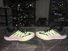 Nike Air Zoom Elite 8 Mens Running Training Shoes Size 8 Volt Black Purple