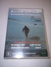 Antarctica: Life At The Extremes Of The Frozen Continent DVD (NEW & SEALED)
