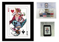 MIRABILIA Cross Stitch PATTERN & EMBELLISHMENT PACK Royal Games MD150