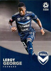 ✺New✺ 2017 2018 MELBOURNE VICTORY A-League Card LEROY GEORGE