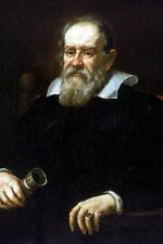 New 5x7 Photo: Portrait of Famed Italian Astronomer Galileo Galilei