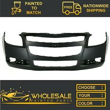 Fits: 2008-2012 Chevy Malibu Front Bumper COVER PAINTED