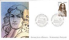 3901+ FDC  ENVELOPPE 1er JOUR FDC NUMISMATIQUE FRANCAISE  PIERRE BAYLE