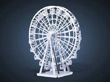 FERRIS RUOTA: metallo Earth 3D Laser Cut disco maxi modello in miniatura KIT 2 fogli