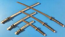 Samurai Sword Katana Sword Silver and Grey with Stand Set High Quality