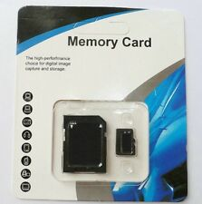 32GB Universal Micro SD HC Flash Memory With TF Card SDXC Free Adapter Class 10