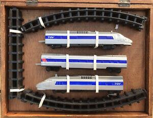 TGV Train Set in Wooden Presentation Box (Model Railway)