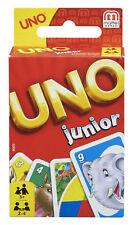 Mattel Uno Junior Kinder Kartenspiel ab 3 Jahren Familie Spielzeug Lernspiel