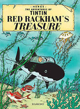 The Adventures of TINTIN - RED RACKHAM'S TREASURE - BRAND NEW BOOK