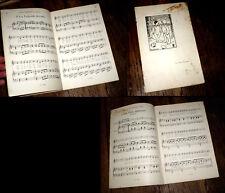 recueil piano chant enfantina thème ours en peluche 1932 illust. Paul Collet