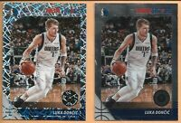 2019-20 Panini NBA Hoops Premium Stock Luka Doncic Laser Prizm #39 With Base