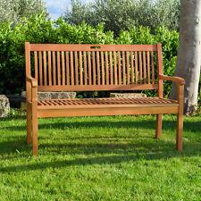 Panca legno giardino panchina 2 posti ideale per esterno finitura ad olio novità