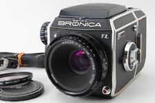 **Exc++++** Zenza Bronica EC-TL Camera W/ NIKKOR P-C 75mm F2.8 From Japan