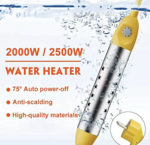 Water Heater Floating Boiler Portable Immersion Suspension Bath Automatic Off