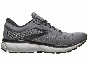Brooks Men's Ghost 13 Running Shoes Size 11.5 Grey/Pearl/Black 110348-040