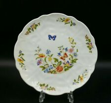 More details for aynsley cottage garden wavy edge side plate-first quality-excellent condition
