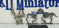 GW Citadel Warhammer Fantasy Tomb Kings Mounted Liche Priest 2002 Metal Undead