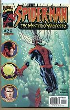 Spider-man the Mysterio Manifesto 2001 series # 2 very fine comic book