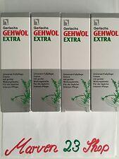 4 x GEHWOL Fuß Creme Extra 2.6 OZ Universal Fuß Creme Original Deutsch