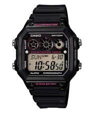 Casio Ae-1300wh-1a2 reloj caballero crono 100m