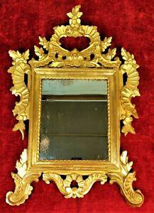 CORNUCOPIA. CARVED WOOD. ORIGINAL GOLDEN TO THE GOLDEN LEAF. SPAIN. XVIII-XIX