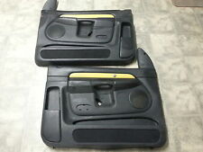 04 Dodge Ram 1500 Rumble Bee door panels trim cards