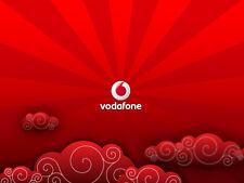 VODAFONE Rete - 0777 VIP oro numeri di telefono cellulare scheda SIM SIM elenco facile 2 RICORDI