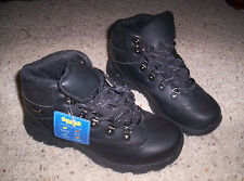 Boys Sonoma Steps Black Mike Hiking Boots Size 4
