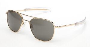 Randolph Aviator Non-Polarized Sunglasses Military Made in USA Choose Size/Color