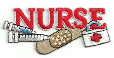 Nurse - Medical - Student - Nursing - ER - Pediatric - Embroidered Iron On Patch